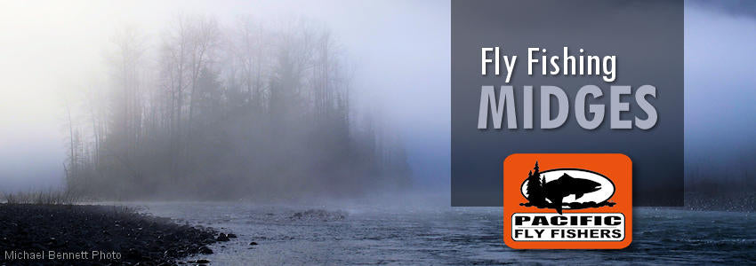 Fly fishing flies, midge pupa