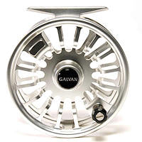 Galvan Torque Fly Fishing Reels - Clear Silver