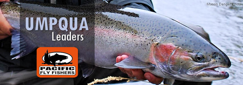 Umpqua leaders and tippet fluorocarbon steelhead salmon bass trout