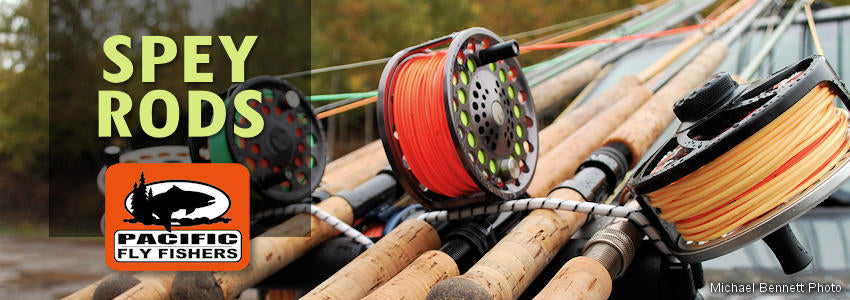 two handed, Spey, switch fly fishing rods, two-handed