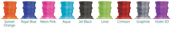 Tibor Reels Custom Color Options