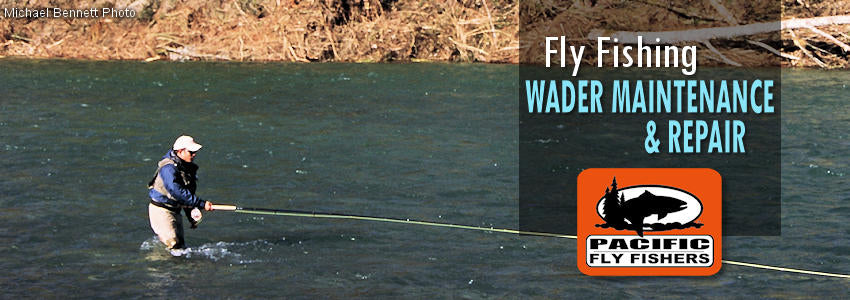 fishing wader maintenance repair, fly fishing, patching, glue, fixing, replacement laces