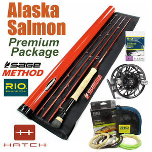 Premium Fly Rod & Reel Package for Alaska Salmon Fly Fishing