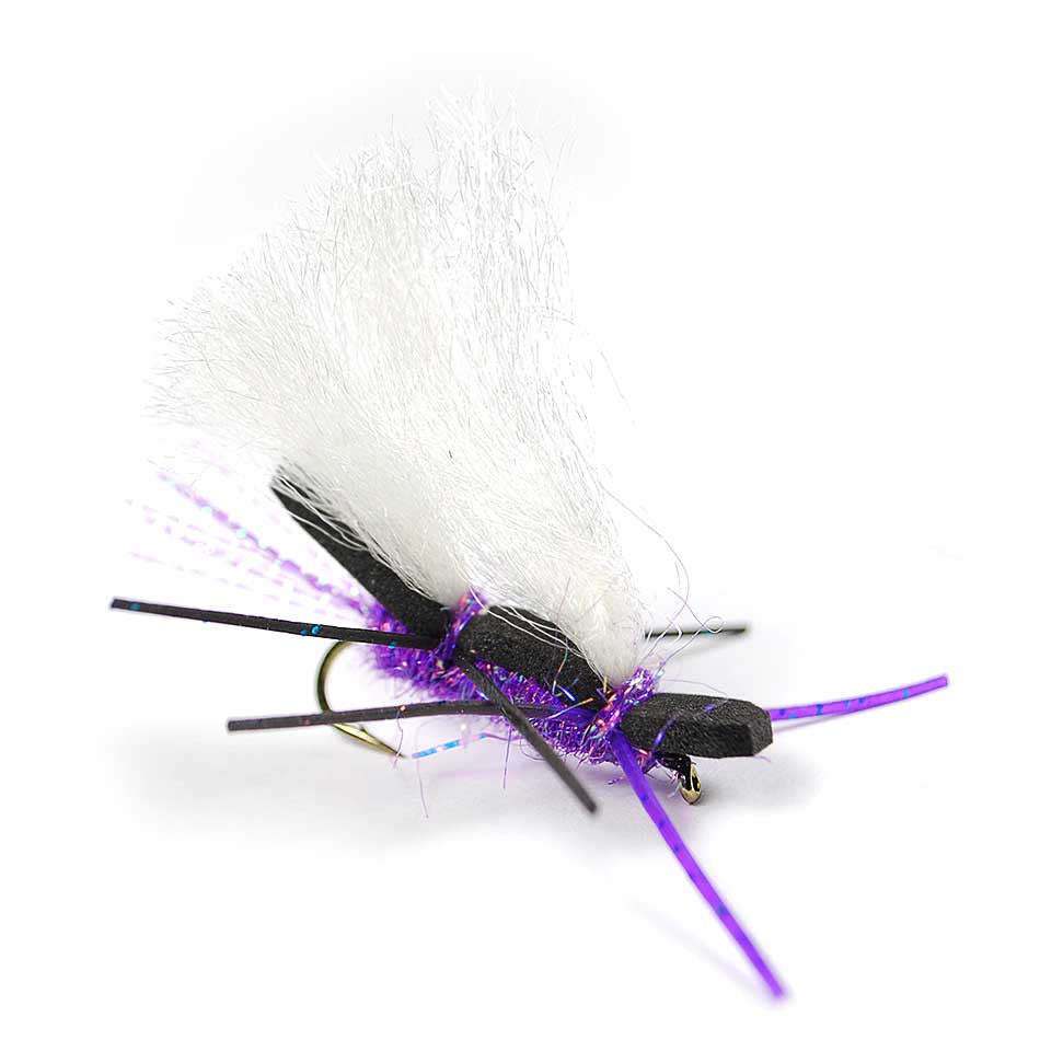 Chubby Chernobyl - Purple - Pacific Fly Fishers