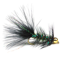 Crystal Bugger - Bead Head - Black - Pacific Fly Fishers