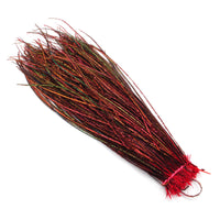 Dyed Peacock Herl - Red