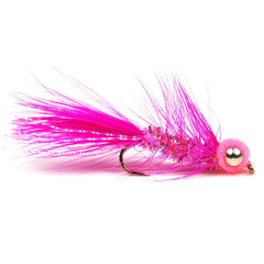 Egg Sucking Leech Barbell Eyes - Pink - Pacific Fly Fishers