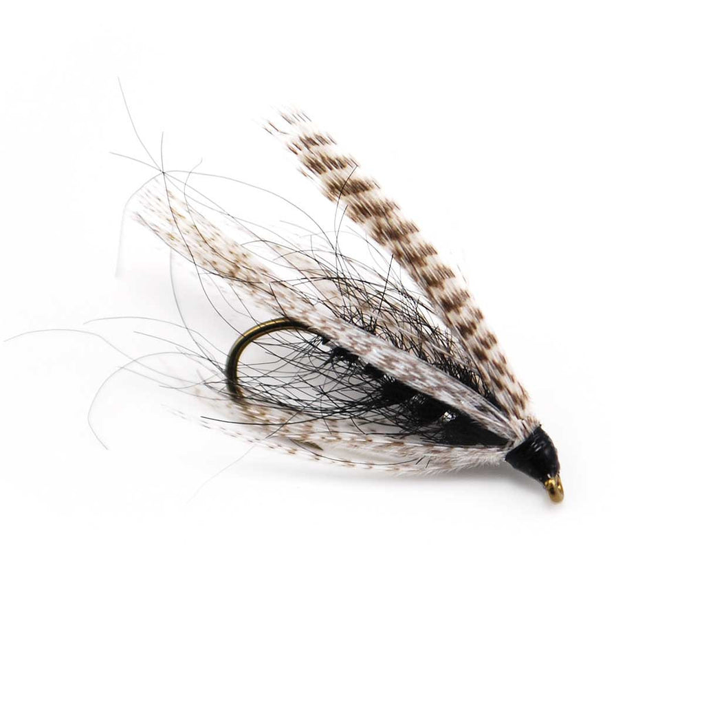 Knudsen Spider Black - Pacific Fly Fishers