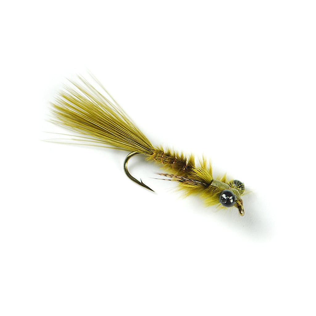 Master Damsel Nymph - Olive - Pacific Fly Fishers