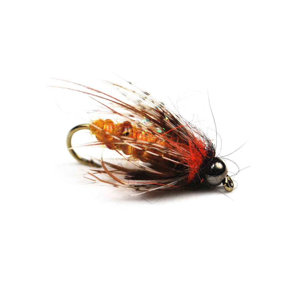 Morrish Deep October Caddis Pupa