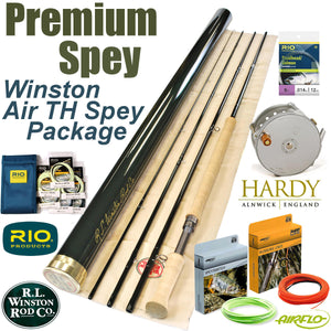 Winston Air TH Spey Rod Packaged Outfit with Hardy Bougle Reel - Discount Sale