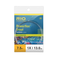 RIO Powerflex Trout Leaders 7.5ft