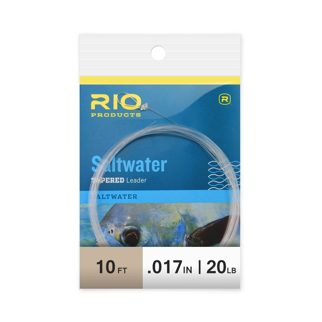 RIO 10-foot Saltwater Leader - 20 lb.