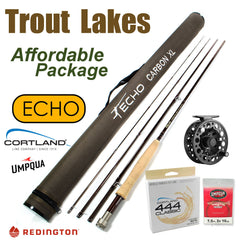 Trout Lakes - Affordable Rod & Reel Outfit