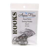 Aqua Flies AquaTalon Swing Hooks - Tube Fly and Shank Hooks