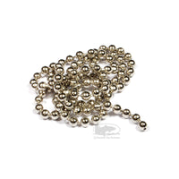 Nickel Silver Bead Chain Eyes - Fly Tying Materials