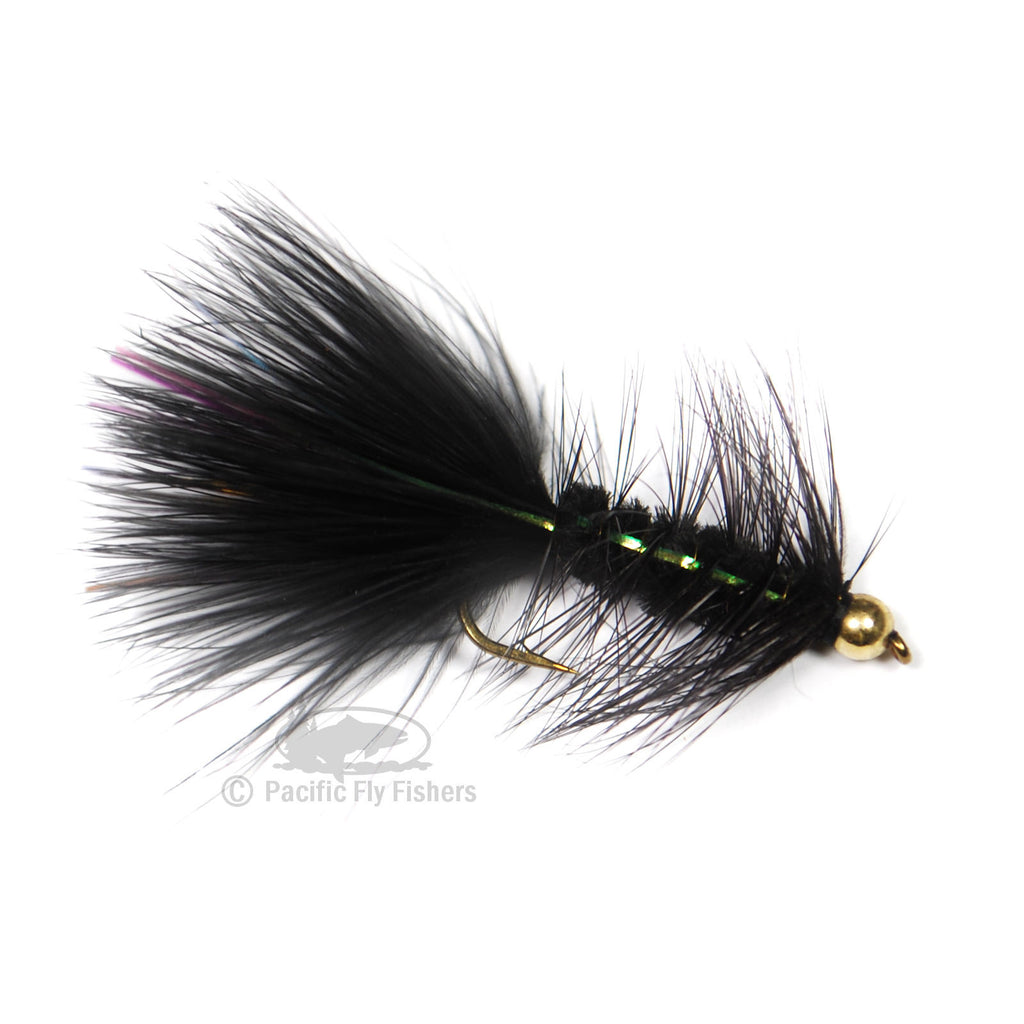 Bead Flashabou Bugger - Black
