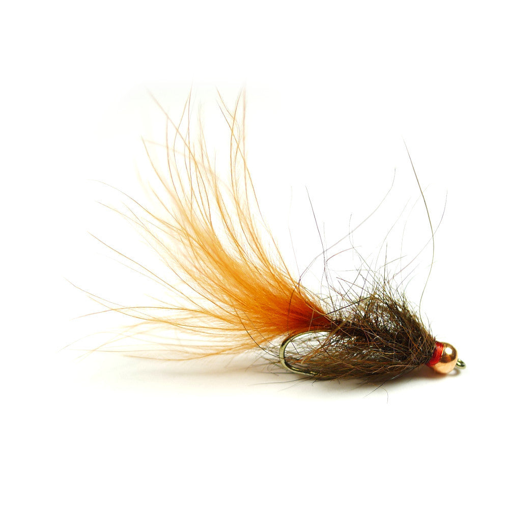 Bead Head Hale Bopp Leech - Brown