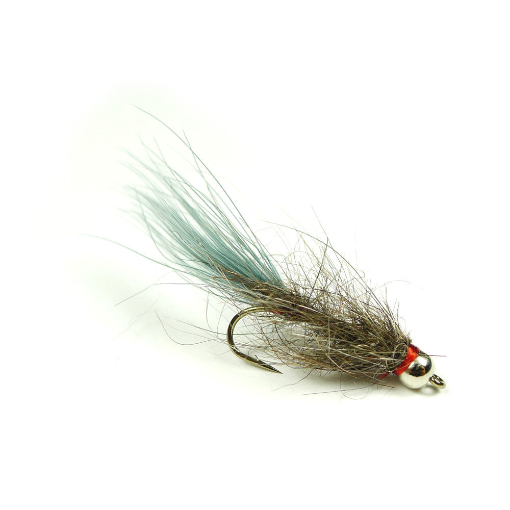 Bead Head Hale Bopp Leech - Gray