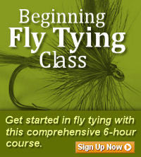 Beginning Fly Tying Classes