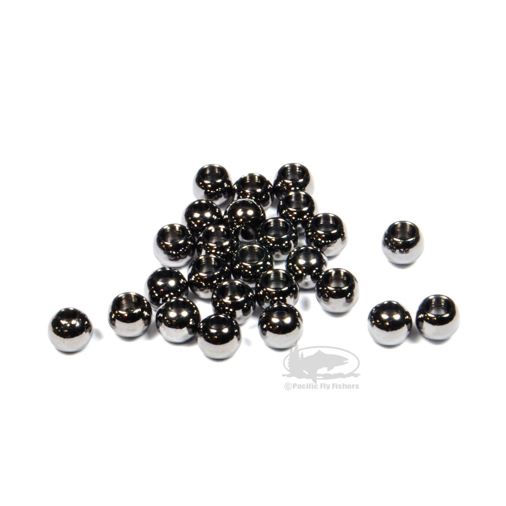Brite Beads - BLack Nickel - Bead Head Cyclops Eyes - Fly Tying