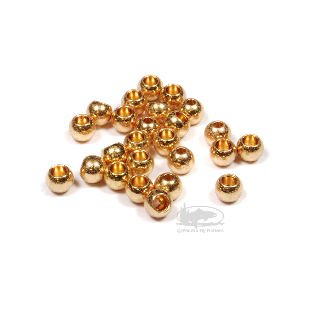 Brite Beads - Gold - Bead Head Cyclops Eyes - Fly Tying
