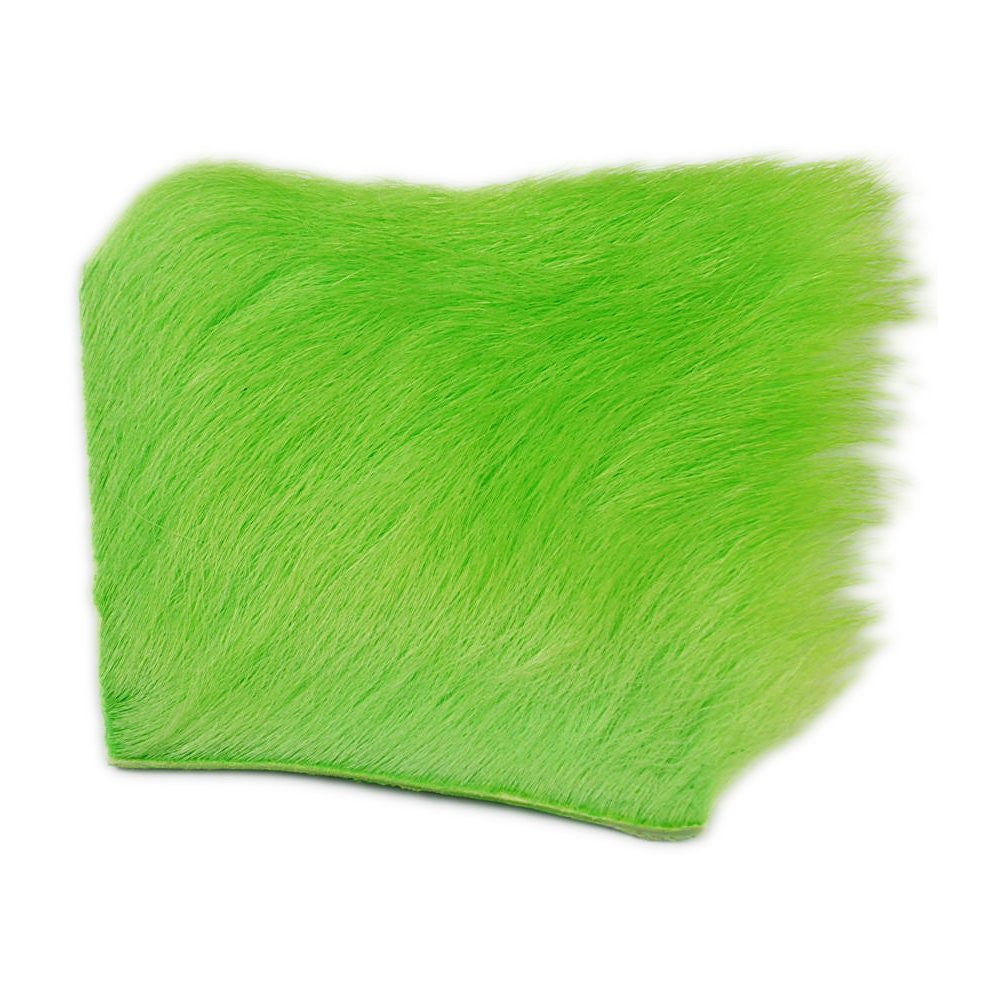 Calf Body Hair - Fluorescent Chartreuse