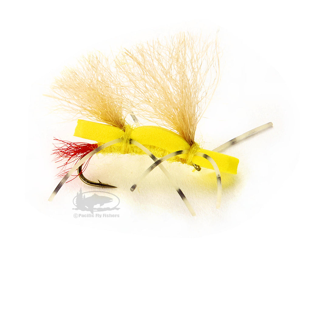 Chubby Sally - Yellow Sally Stonefly Dry - Fly Fishing Flies