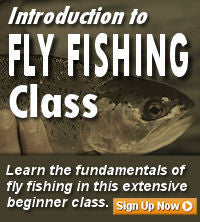 Introduction to Fly Fishing Classes
