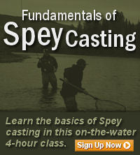 Fundamentals of Spey Casting Classes