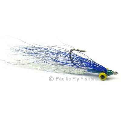 Clouser Minnow - Blue/White - Pacific Fly Fishers