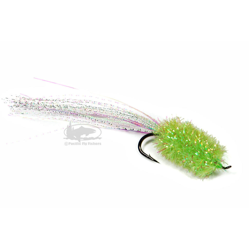 Coho Kryptonite - Chartreuse - Silver Salmon Fly