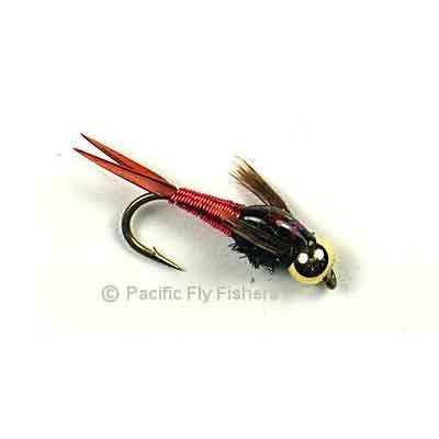 Copper John - Red - Pacific Fly Fishers