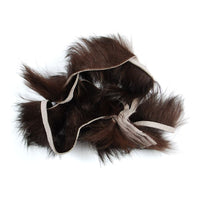 Crosscut Rabbit Strips - Dark Brown