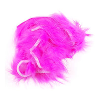 Crosscut Rabbit Strips - Hot Pink