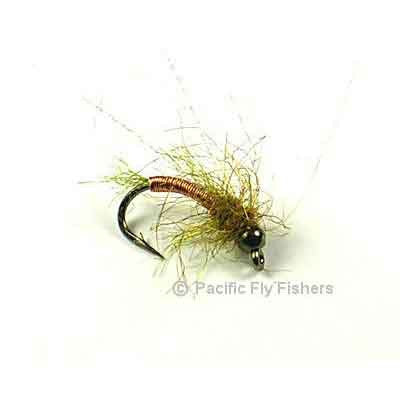 Deep Six Caddis Pupa - Copper - Pacific Fly Fishers