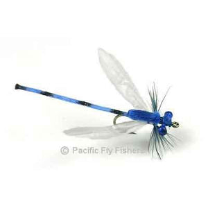 Deer Hair Damsel - Blue - Pacific Fly Fishers
