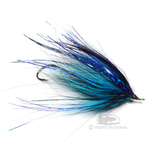 Dirty Hoh - Black/Blue - Pacific Fly Fishers