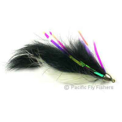 Dolly Llama - Black/White - Pacific Fly Fishers