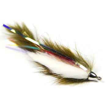 Dolly Llama - Olive/White - Pacific Fly Fishers