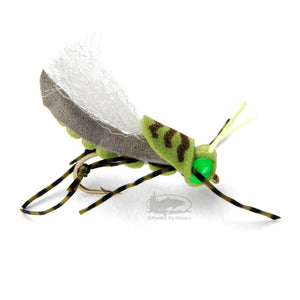 Donkey Kong Hopper - Olive - Grasshopper Terrestrial - Fly Fishing Flies