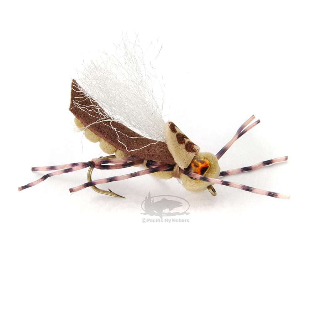 Donkey Kong Hopper - Tan - MFC - Montana Fly Company - Grasshopper - Fly Fishing Flies