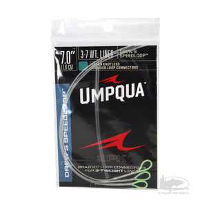 Umpqua Drew's Speed Loop - 3wt to 7wt Clear - Braided Loop Connectors