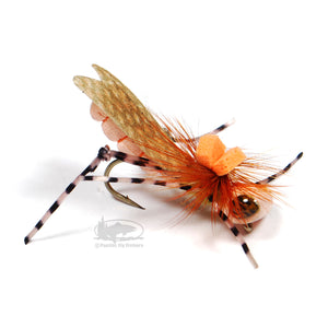 Dunnigan's Young Grasshoppa - Peach - Grasshopper Dry Fly