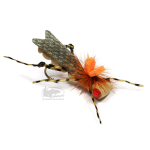 Dunnigan's Young Grasshoppa - Tan - Grasshopper Dry Fly