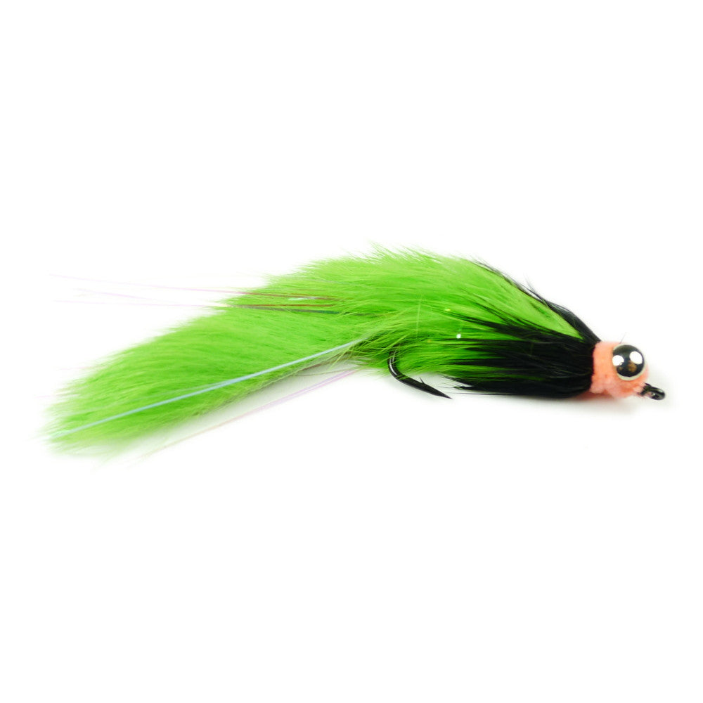 Egg Hare Ball Leech - Chartreuse - Pacific Fly Fishers
