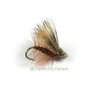 Elk Hair Caddis - Brown - Pacific Fly Fishers