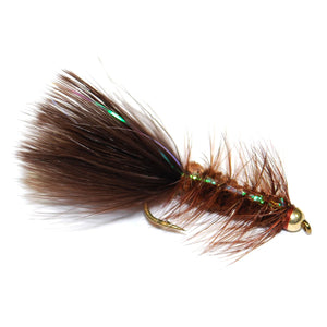 Bead Flashabou Bugger - Brown