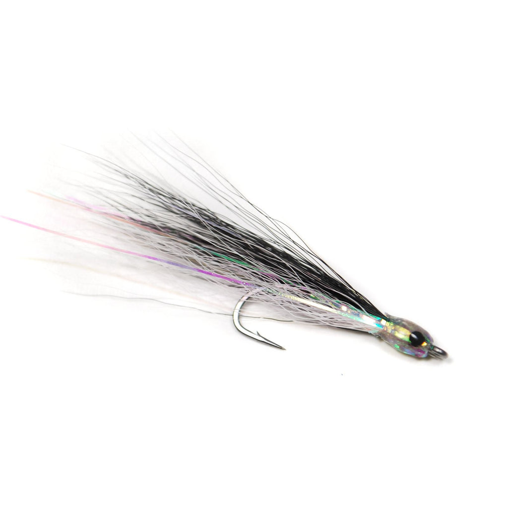 Flashy Lady - Black / White - Pacific Fly Fishers