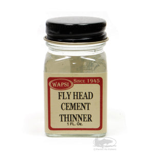 Fly Tying Head Cement Thinner - Pacific Fly Fishers